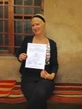 Certiificaat van de talenschool