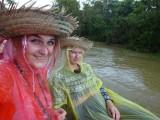 Regen hoort er ook bij in de jungle