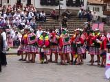 Feministisch protest Cusco