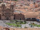 Plaza de las Armas van bovenaf