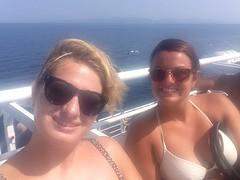 Op de boot naar Aegina