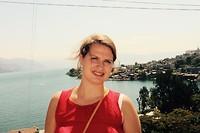 Bij het meer van Atitlan