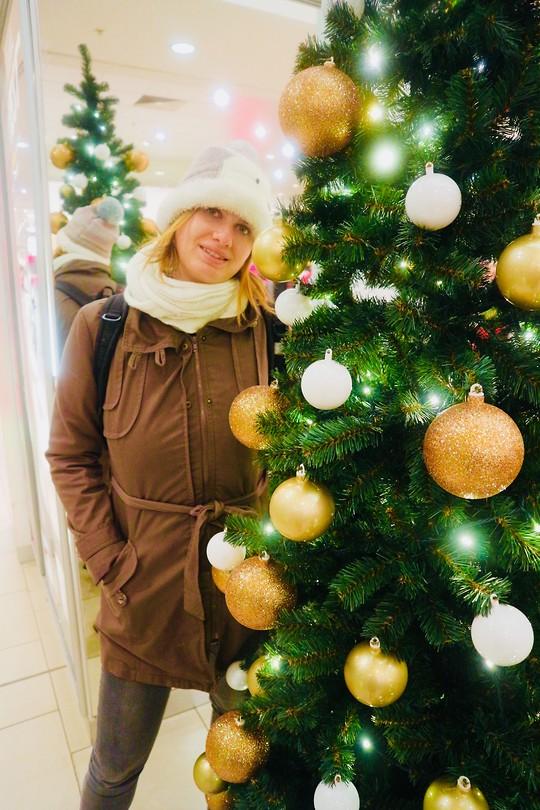 In de kerstsferen