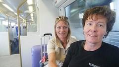 In de trein naar Jo'burg