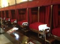 De slaapzaal van hotel Dieu