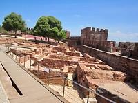 Opgravingen in het Castillo