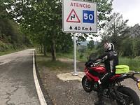 Waarschuwing voor 40 km bochten?????