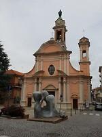Een van de vele torentjes in Canale