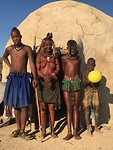 Himba familie