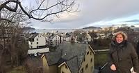 Uitzicht op Ålesund