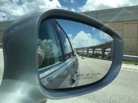 Viaductenstelsel in de spiegel