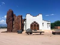 Crossroads Church in het dorpje Pojoaque