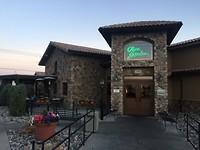 Voorkant van het restaurant Olive Garden