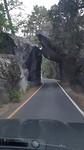 De ingang van Yosemite vanuit El Portal