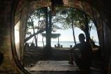 Goedemorgen! Uitzicht vanuit de tent op Ko Rok