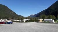 Campsite Sunrise Valley