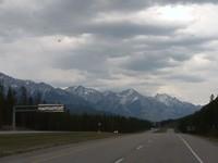 Onderweg op de Trans canadien highway 97a