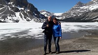 Samen bij Lake Bow