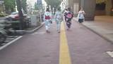 In Yukata op straat