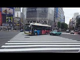 Oversteken op Shibuya crossing