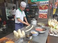 In Xi'an is heel veel moslim invloed! maar ze hebben wel lekker eten hoor