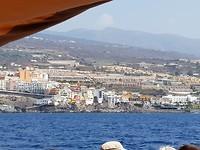 Tenerife vanaf zee