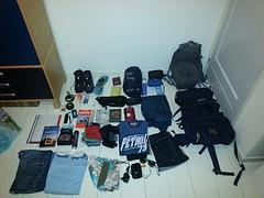 Alles wat er in mijn backpack gaat.