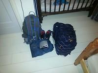 Backpack en rugtas