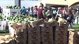 Groente en of fruit markt