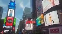 Op Time Square (zonder geluid)