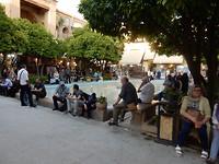 Binnenplaatsje in de bazaar in Shiraz.