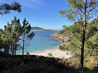 Klein strand bij Fisterra