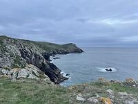 Nog een foto kustlijn om het af te leren