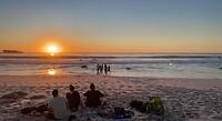 Clifton 3rd Beach sunset