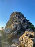Laatste stukje naar de top van Lions Head
