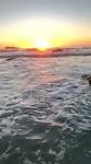 Clifton 3rd beach sunset (2)