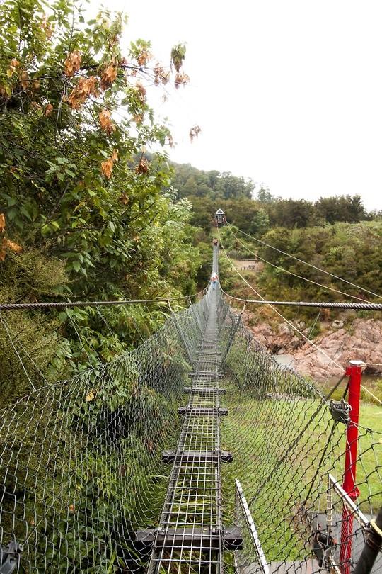 Swinging Bridge | Foto | Roland en Anitas reisblog Nieuw