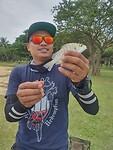Faz zijn nieuwe hobby: vissen