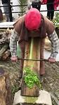 handen-arbeid op de kerstmarkt in Odeleite