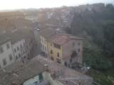 Vaag vergezicht over San Miniato alto