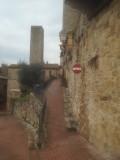Een gedeelte van de stadsmuur