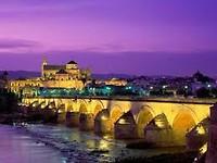 Córdoba-Puente-Romano in de avond (gepikt van internet)