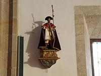 Jacobus in de kerk van Melide