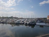 De haven van Capbreton