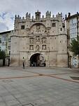 Toegangspoort tot Burgos