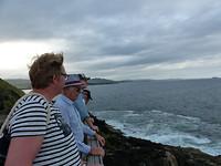 Uit kijkend over de zee....