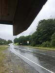 Eerste regen na 6 dagen lopen