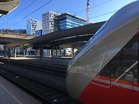 Leegte op station Oslo