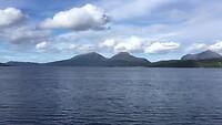 De overtocht over het fjord