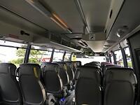 Lege bus, eerste traject